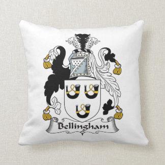 Escudo de la familia de Bellingham Almohadas