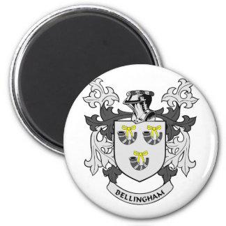 Escudo de la familia de BELLINGHAM Imán De Frigorífico