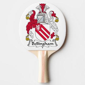 Escudo de la familia de Bellingham Pala De Ping Pong