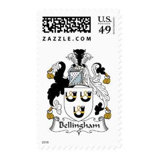 Escudo de la familia de Bellingham Sellos