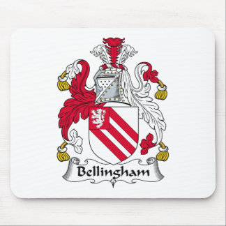 Escudo de la familia de Bellingham Alfombrilla De Raton