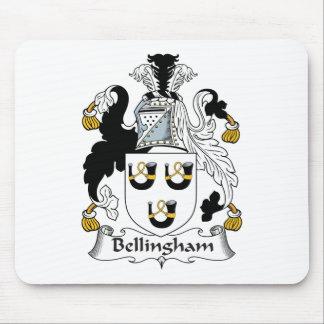 Escudo de la familia de Bellingham Tapete De Ratón