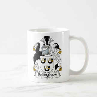 Escudo de la familia de Bellingham Tazas