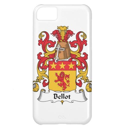 Escudo de la familia de Bellot Funda Para iPhone 5C