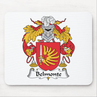 Escudo de la familia de Belmonte Tapetes De Raton