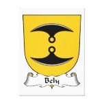 Escudo de la familia de Bely Impresiones En Lienzo Estiradas