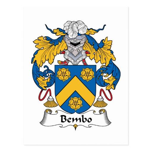 Escudo de la familia de Bembo Postales