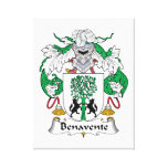 Escudo de la familia de Benavente Impresion De Lienzo