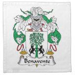 Escudo de la familia de Benavente Servilletas
