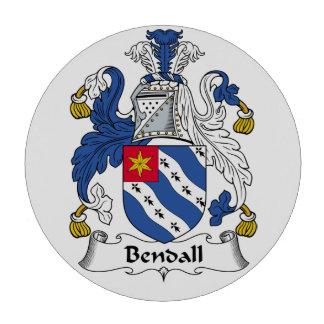 Escudo de la familia de Bendall Juego De Fichas De Póquer