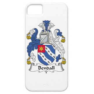 Escudo de la familia de Bendall iPhone 5 Case-Mate Protectores
