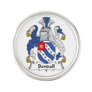 Escudo de la familia de Bendall Insignia