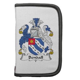 Escudo de la familia de Bendall Organizador