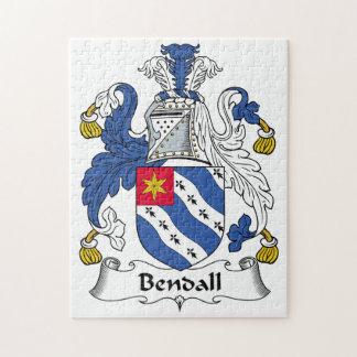 Escudo de la familia de Bendall Rompecabeza