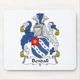 Escudo de la familia de Bendall Alfombrillas De Ratones