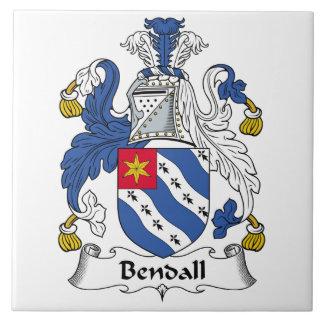Escudo de la familia de Bendall Teja