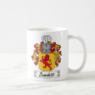 Escudo de la familia de Benedetti Taza