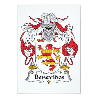 Escudo de la familia de Benevides Comunicados