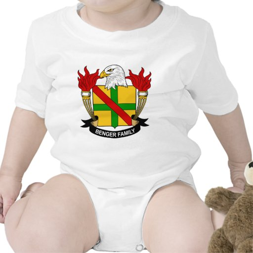 Escudo de la familia de Benger Traje De Bebé