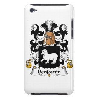 Escudo de la familia de Benjamin iPod Case-Mate Cárcasa