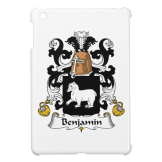 Escudo de la familia de Benjamin iPad Mini Carcasas