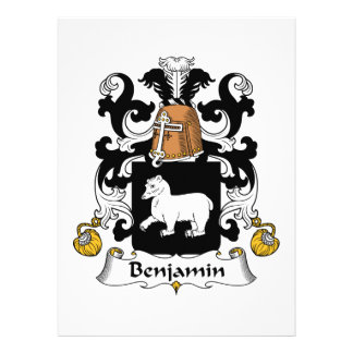 Escudo de la familia de Benjamin Anuncios Personalizados