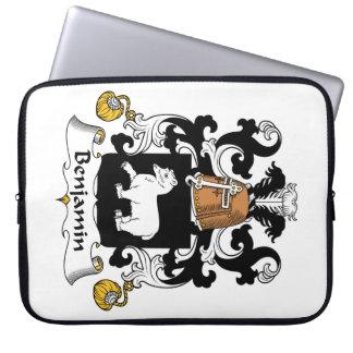Escudo de la familia de Benjamin Manga Portátil