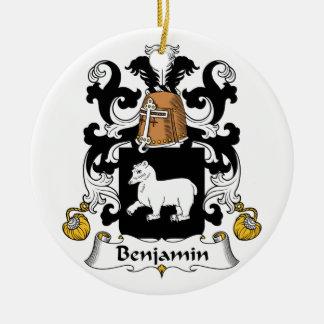Escudo de la familia de Benjamin Ornato