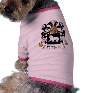 Escudo de la familia de Benjamin Camisetas De Perro