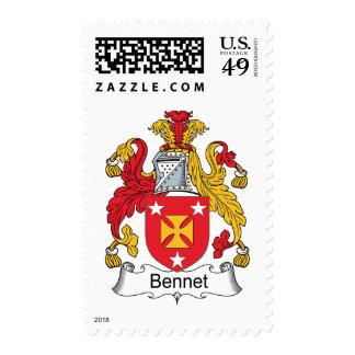 Escudo de la familia de Bennet Franqueo