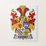 Escudo de la familia de Bennet Rompecabezas