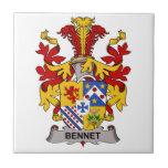 Escudo de la familia de Bennet Tejas