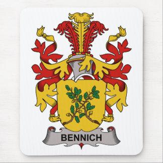 Escudo de la familia de Bennich Alfombrilla De Ratón