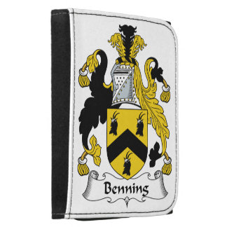 Escudo de la familia de Benning