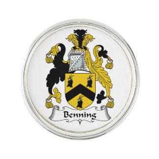 Escudo de la familia de Benning Insignia