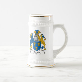 Escudo de la familia de Bennis Jarra De Cerveza