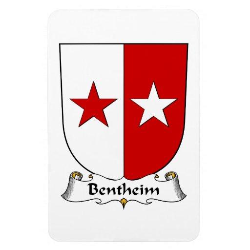 Escudo de la familia de Bentheim Rectangle Magnet