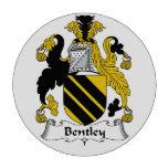 Escudo de la familia de Bentley Juego De Fichas De Póquer