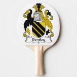 Escudo de la familia de Bentley Pala De Ping Pong