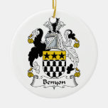 Escudo de la familia de Benyon Adorno De Reyes