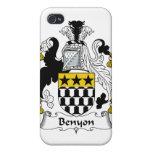 Escudo de la familia de Benyon iPhone 4 Cárcasas