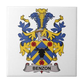 Escudo de la familia de Benzon Azulejos