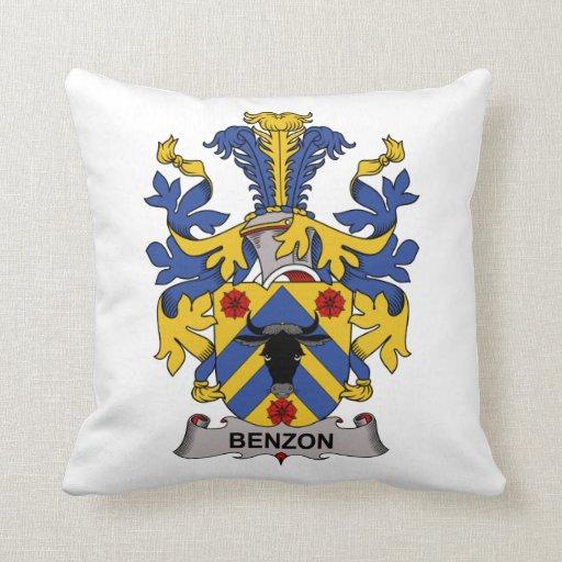 Escudo de la familia de Benzon Cojin