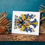 Escudo de la familia de Benzon Placas Con Foto