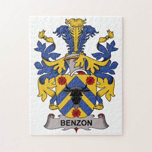 Escudo de la familia de Benzon Puzzles