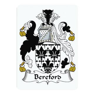 Escudo de la familia de Bereford Anuncio