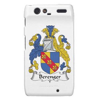 Escudo de la familia de Berenger Droid RAZR Fundas