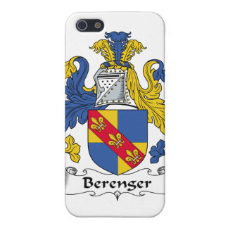 Escudo de la familia de Berenger iPhone 5 Carcasa