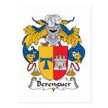 Escudo de la familia de Berenguer Postal