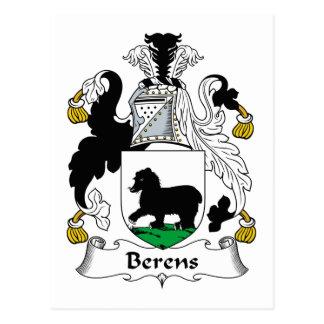 Escudo de la familia de Berens Postales